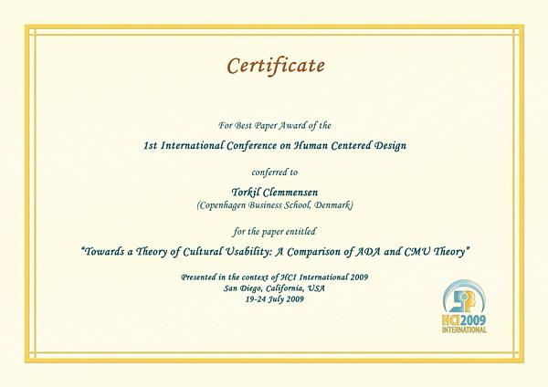 symposium certificate templates 28 images hci